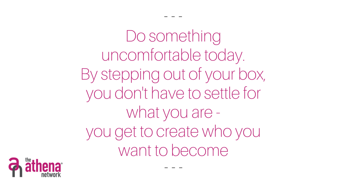 Here at the Athena Network there are no limits!  Are you prepared to do something uncomfortable this week?   Step out of your comfort zone and create what you want to become!  DM me for information  #Motivation #MondayMotivation #StepOutTheBox #imagination #nolimits #goals https://t.co/qEfw2rj1sR