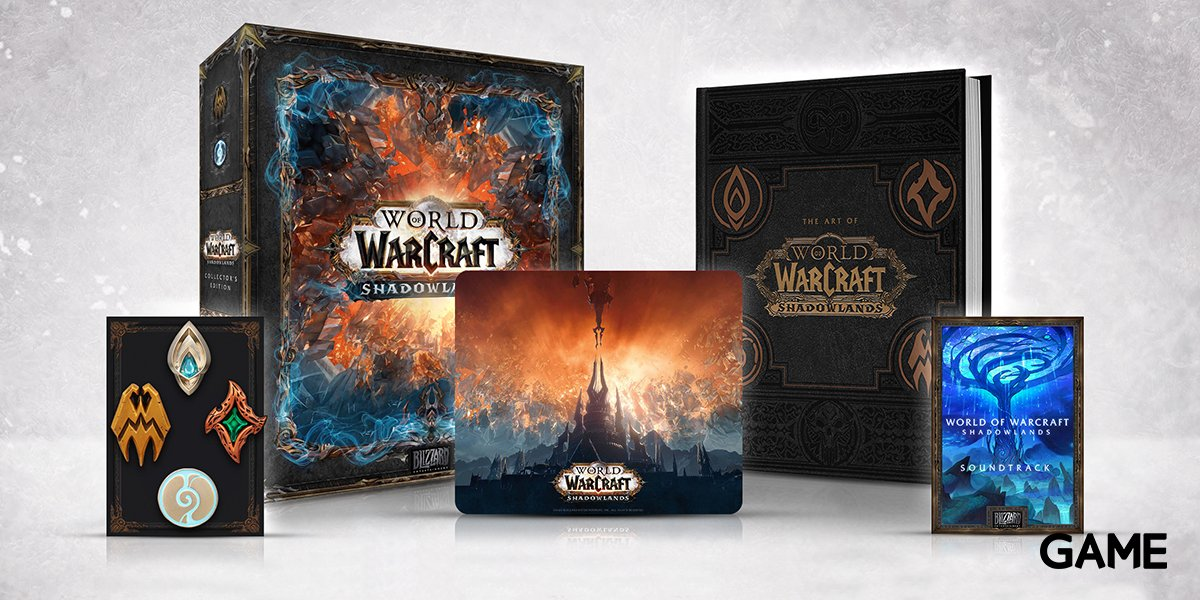 Are you ready to explore the Shadow Lands in this all new #WorldofWarcraft expansion?  We have extremely limited numbers of the Collector's Edition so make sure to be quick and to being your trade! https://t.co/IJS8YbqpLP