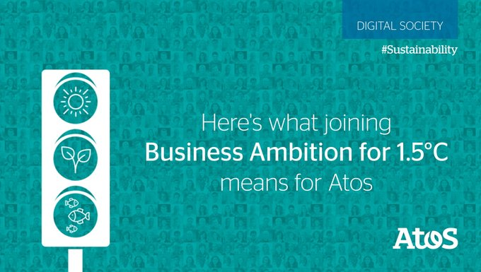 Delivering digital decarbonization - read how Atos is leading the #tech sector's response to...