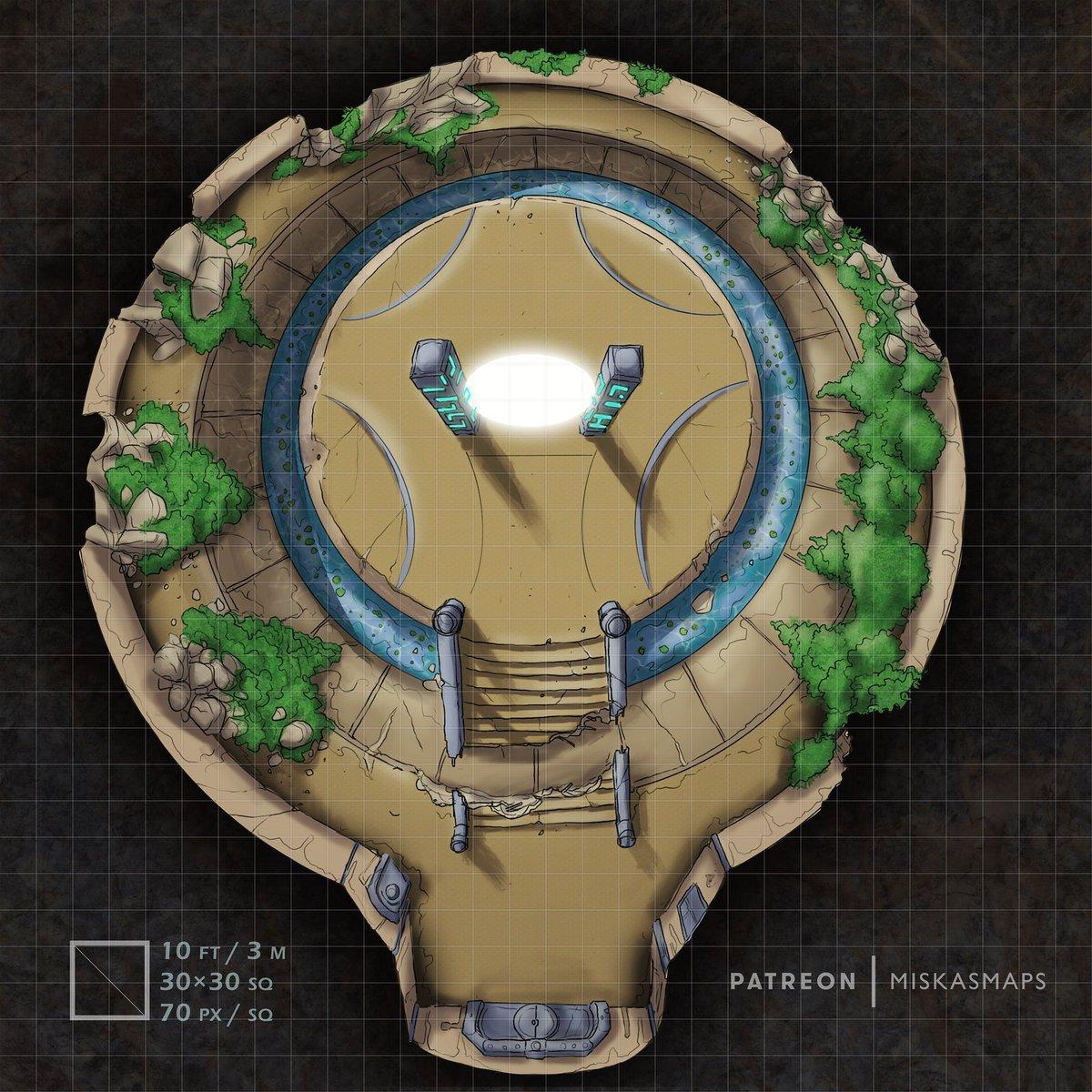#NobodyArtistClub Hi, I'm Miska and I draw deckplans, dungeons, and battlemaps for RPGs https://t.co/J969JxSnV8