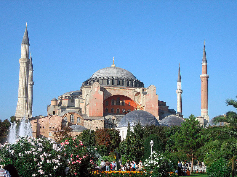 According nowadays standards about religious places and cultural sites the Hagia Sophia should as a place of prayer be given back to its original users: to the Orthodox Christians in Istanbul and in Turkey - who are like the Muslims in Turkey also Turkish citizens. <br>http://pic.twitter.com/RZgFhMZYMu