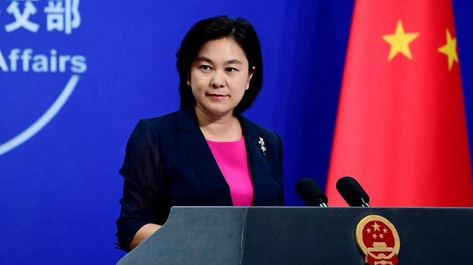 China on Monday announced sanctions on a US entity and four officials in response to US sanctions on multiple Chinese officials in #Xinjiang Uygur Autonomous Region, Chinese Foreign Ministry spokesperson Hua Chunying said. https://t.co/RfuIVSAyUO https://t.co/eMHRXHD9RX