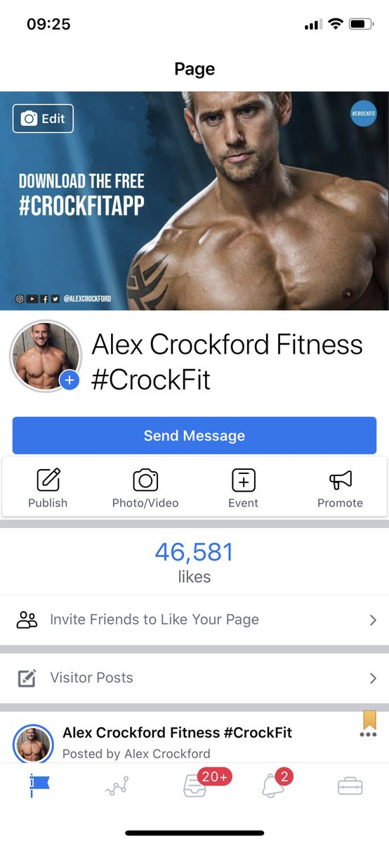 If you have Facebook can you please like my page? 😄 m.facebook.com/AlexCrockfordF…
