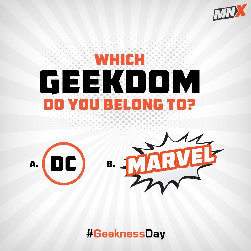 Unpopular opinion: I am a fan of both these SUPER-amazing worlds!  #GeeknessDay #EmbraceYourGeeknessDay #GeekDay #Marvel #DC https://t.co/MAE36RKWw6