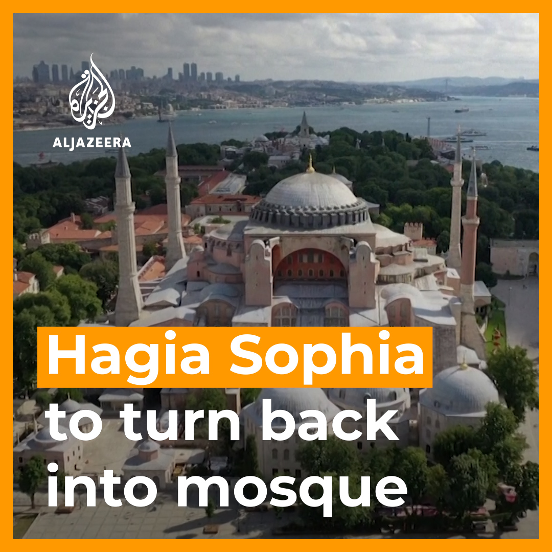Public opinion, both in Turkey and internationally, is divided over a Turkish court ruling to turn the iconic Hagia Sophia back into a mosque. https://t.co/DLRs3DBJ0U