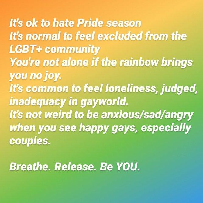 #PRIDE2020 #pride #LGBTQ #gayworld #anxiety #BPDpic.twitter.com/t3DsI4yYTA