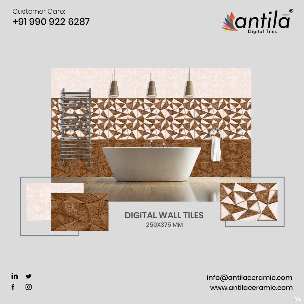 ANTILA CERAMIC PVT. LTD. Customer care: +91 990 922 6287 • #marble #exporter #mm #digitalwalltiles #decoration #walltile #ihavethisthingwithtiles #interiordecor #architect #walltilesdesign #concretetiles #walldecor #designertiles #worthtiles #tileshop #brand #homedecor #tilewallpic.twitter.com/UQ2WTZECQr