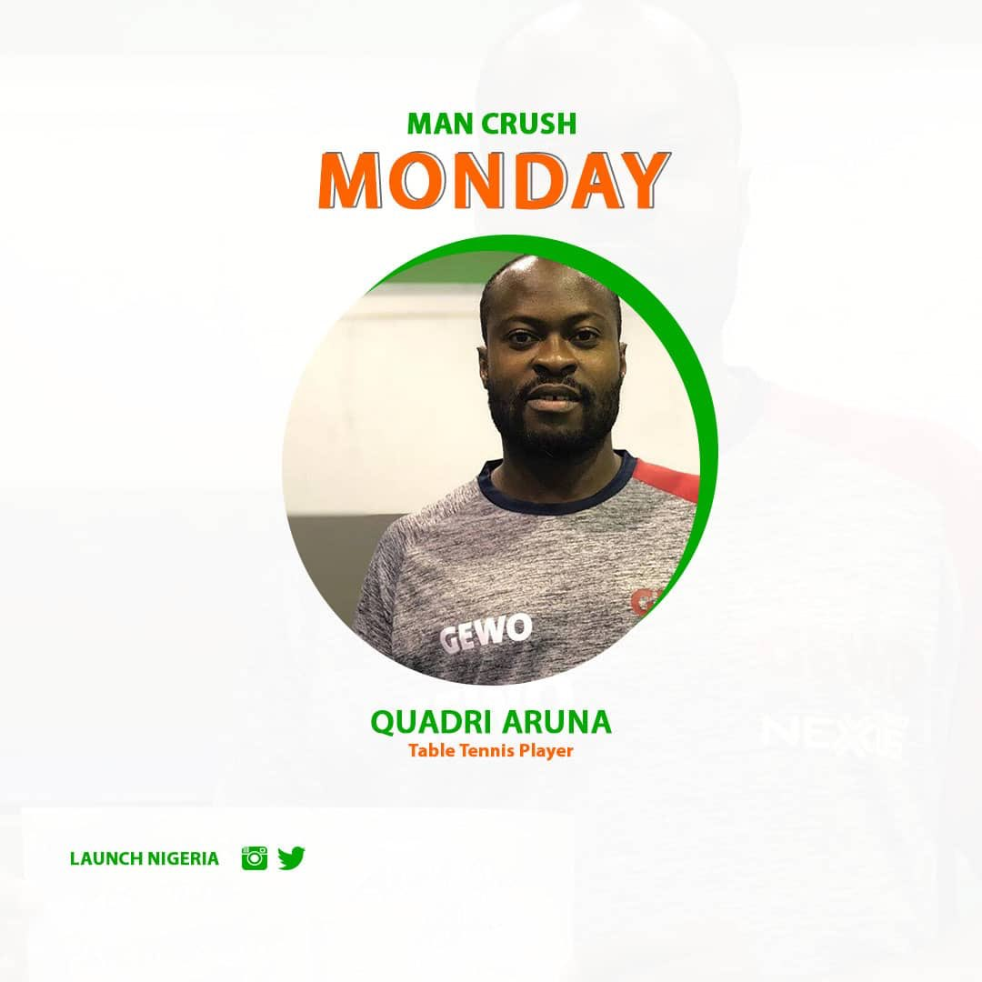 The best Table Tennis Player on the Continent is a Nigerian and our #ManCrushMonday for today:<br>http://pic.twitter.com/R3Ju28ykJM
