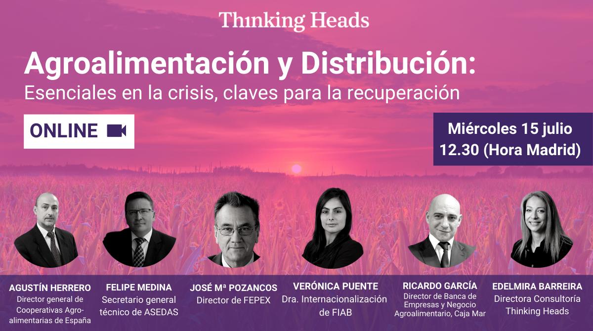 📢 Los principales líderes de la industria #agroalimentaria ponen sobre la mesa las demandas, retos y oportunidades del sector.  📌 Miércoles 15 de julio a las 12.30 (hora de Madrid).  ✅ Haz clic para participar 👉 https://t.co/zy38x2P3l2  💬 Comenta #TH1Agro si vas a asistir. https://t.co/OESn8sP7og