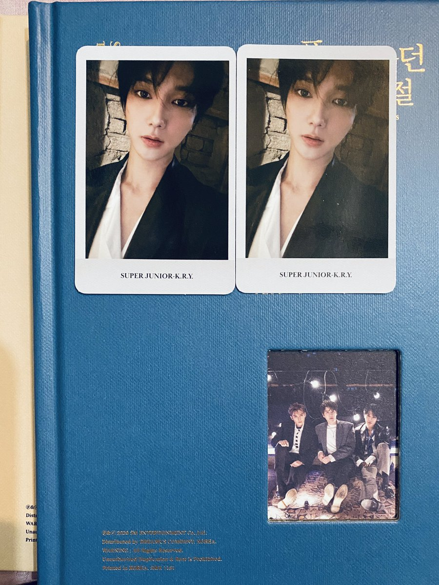 [WTT] Super Junior K.R.Y When We Were Us PC  Have : Yesung (1) Want : Any other than the one on the pic ☺️  Preferably INA 🥺  #SUPERJUNIOR #SuperJuniorKRY #WhenWeWereUs https://t.co/yVOg52ob5j