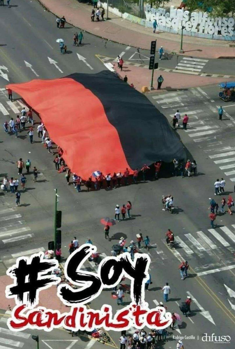 #JulioVictoriososSiempre || Buenos Días Militancia Rojinegra ❤🖤 Estamos a tan solo 6 días del Gran dia. #41CualEsLaConsigna ...  EL PUEBLO NO SE DETIENE 💪  #RedFSLN #PLOMO19  #SomosZenzontles https://t.co/9GEp6krafH