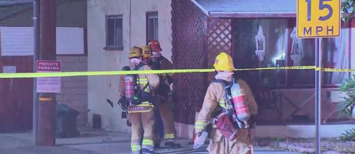 JUST IN: A man in his 70s was found dead in a Burbank garage fire Monday morning that also caused the explosion of live ammunition. https://t.co/PZGk7PV6aT https://t.co/5d5PGHyGKO