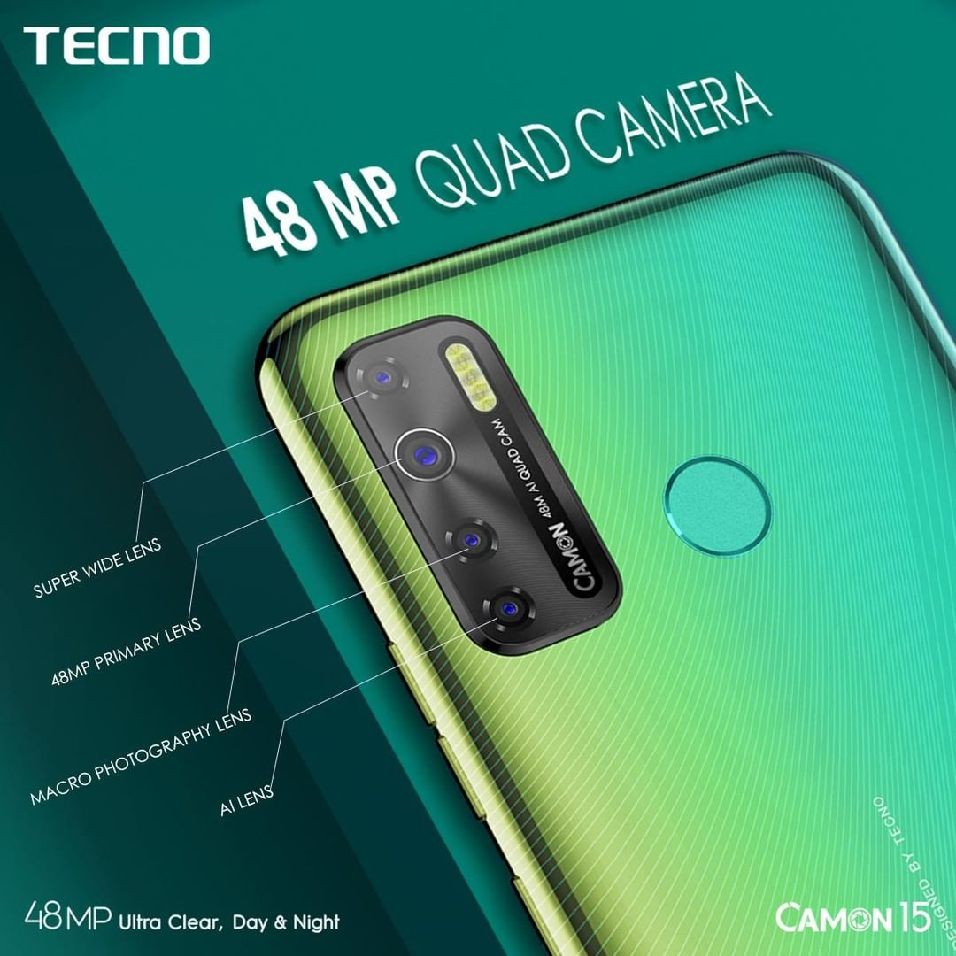 Each lens works hard to ensure that all your pictures are perfect! Trust the Camon 15 to capture all your moments. #Camon15 #UltraClearDayAndNight #TecnoGhana https://t.co/j0Qo4f4LS3