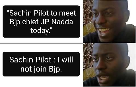 Le Bhakts today: #Sachinpilot #Politics #horsetradingpic.twitter.com/soEZoxStIA