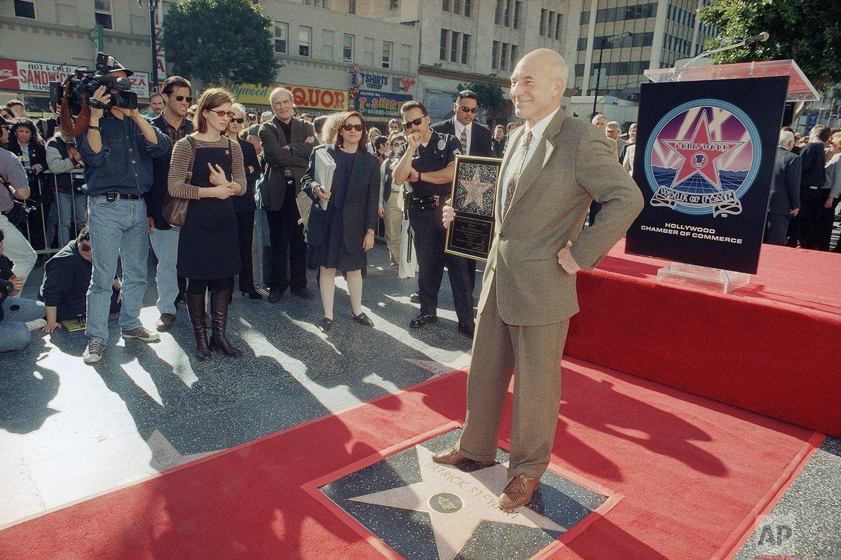80 years ago today, actor Patrick Stewart was born in Mirfield, United Kingdom. | Photo @chrispizzello