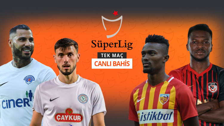 Süper Lig'de günün maçları 18:30'da başlayacak!  #TekMaç #CanlıBahis #iddaa  🇹🇷 KASIMPAŞA vs RİZESPOR 👉 @AliNaciKucuk | KG VAR - 1,45  🇹🇷 KAYSERİSPOR vs GAZİANTEP FK 👉 @evrengoz | MS1 - 1,52  Oynamak için --> https://t.co/zGg3cuwIOm https://t.co/aahL6nUB9M