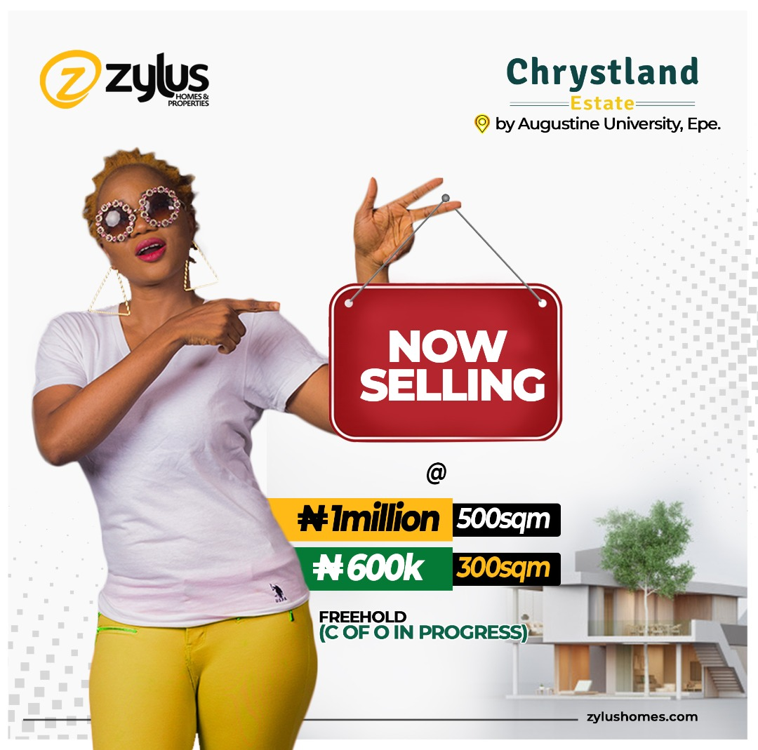Chrystland Estate is a piece of prime real estate  uniquely suited for residential and commercial developments. This estate is located at the central part of Epe, by Augustine University. for more enquires call/whatsapp: +234789118693 #realestateinvesting #RealEstate #Lagos pic.twitter.com/nvRgcKMPjx