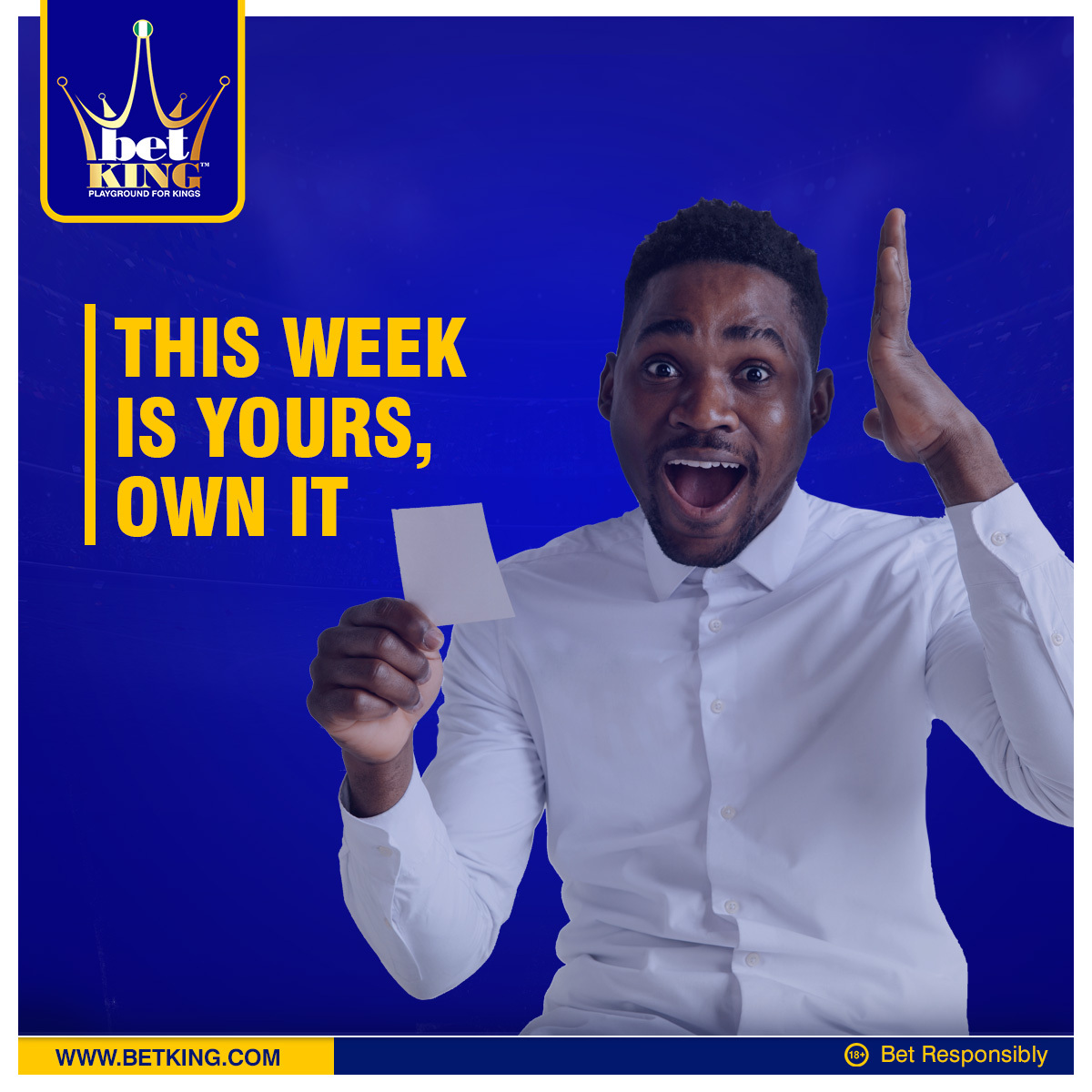 Just a reaffirmation that this week is your week Kings.  All you need to do is own it.  #MondayMotivation #PlaygroundForKings https://t.co/5qSaYTwtwL