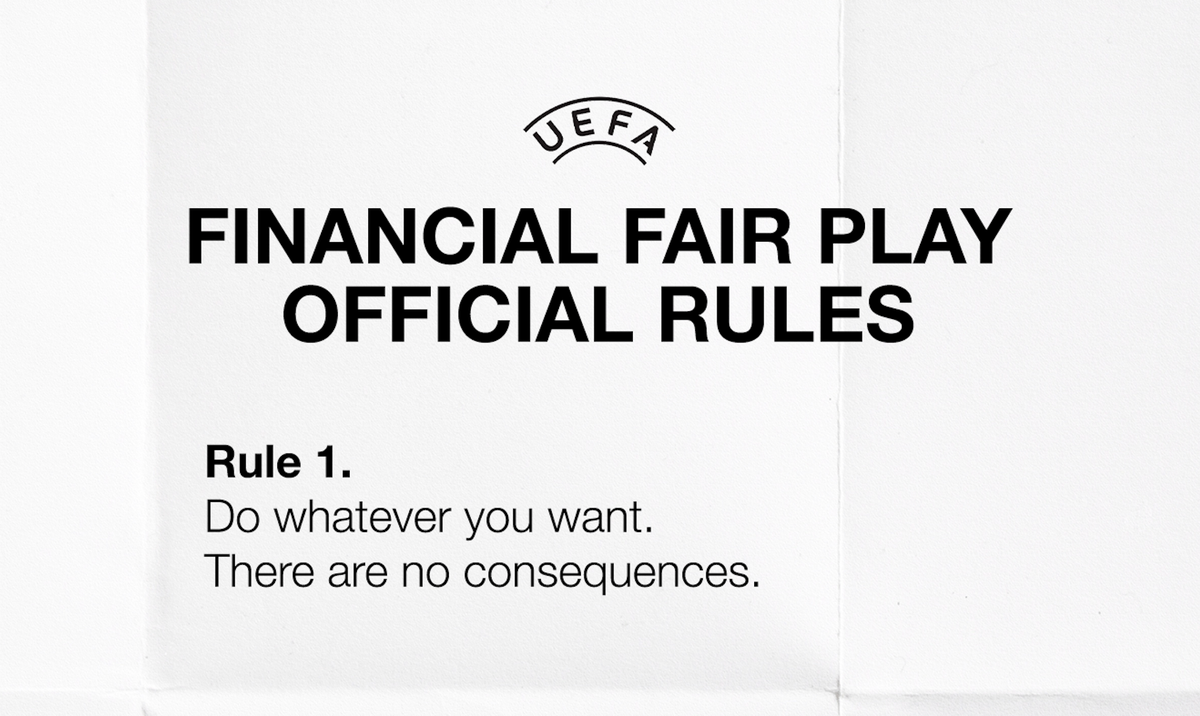 BREAKING: UEFA updates rules around Financial Fair Play. https://t.co/CMFWLLyRwD