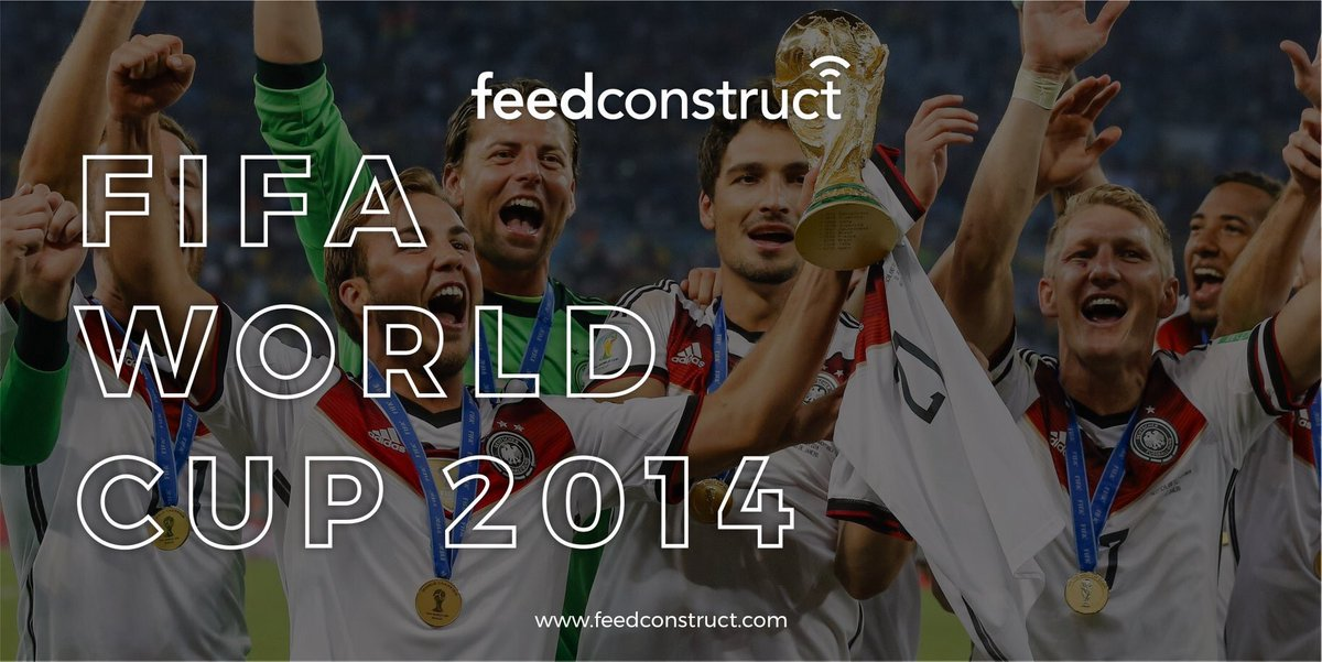 6 years ago on this day Germans became the champions with 1-0 victory over Argentina in the #FIFAWorldCupFinal 🏆🔥  Who remembers the footballer whose stunning extra-time goal settled the outcome of one of the most tense matches? 🤔⚽ #FeedConstruct #GermanyvsArgentina