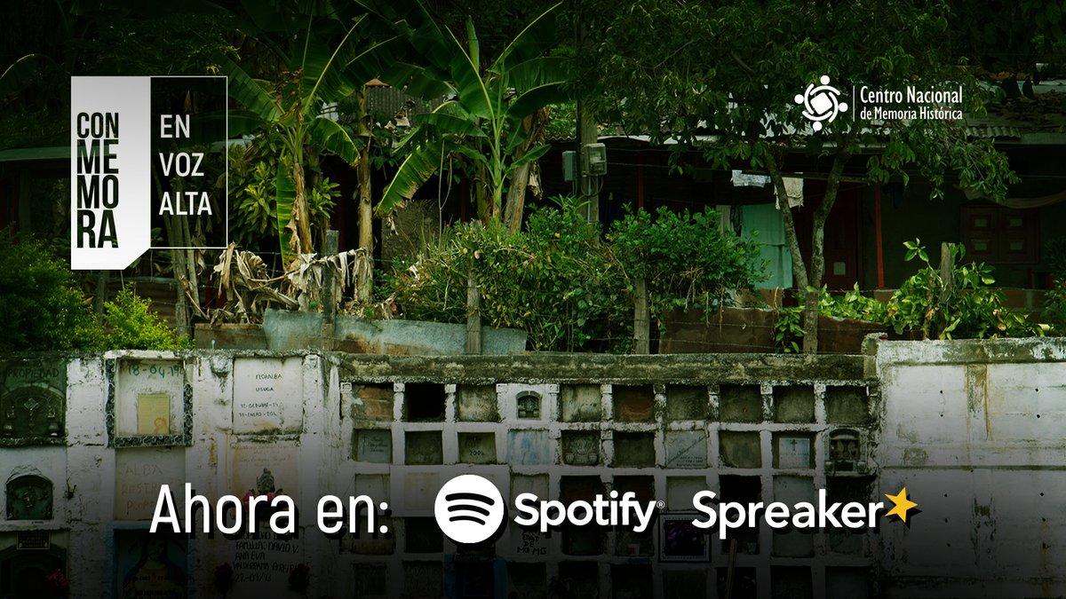 #Podcast 🎧   Disfruta de nuestra serie radial 'Conmemora en Voz Alta' por @SpotifyColombia y @spreaker  Espera nuestros capítulos los #MiércolesDePodcast   Escúchanos en https://t.co/tpFArBCRyG https://t.co/3rZQee754H