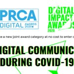 Image for the Tweet beginning: Digital Impact Awards - Covid