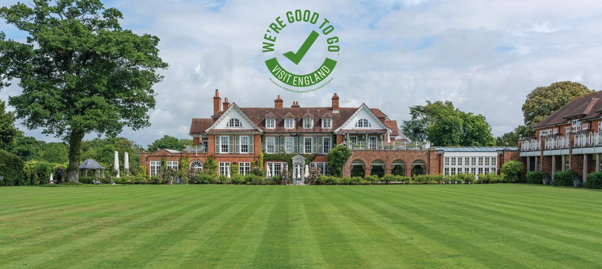 We have worked relentlessly to ensure Chewton Glen is safe for your arrivals so we are delighted to announce that we have now received the We're Good To Go certification!  #welcomeback #iconicluxuryhotels #chewtonglen #safetyfirst pic.twitter.com/SbsDl5gw4W