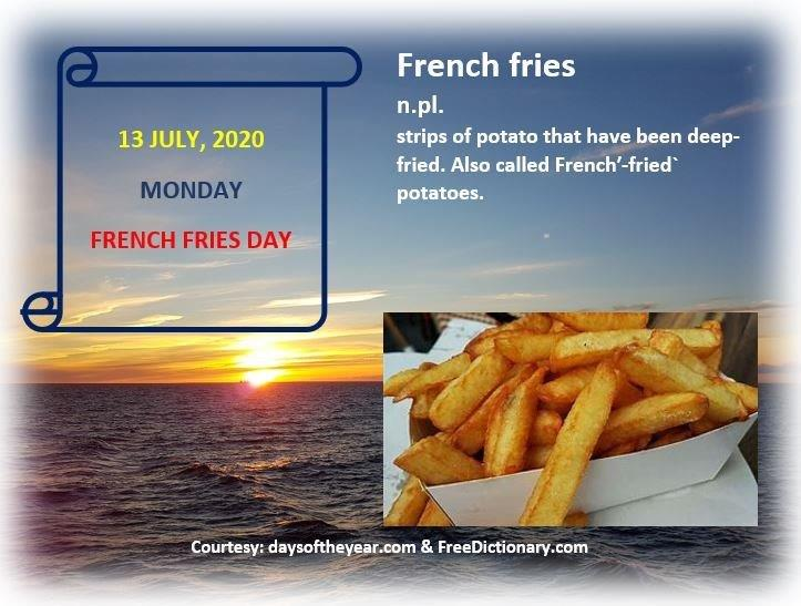 Good day from Amsterdam.   French fries.   Delicious, in moderation.  Seek Truth/Critical Thinking.   Now more than ever.   https://t.co/roSQUbNVsE   #MainlySpeaking #English #Tutor #Onlinelearning  #Learning #SpeakEnglish #LearnEnglish #Fluency #Criticalthinking #Wedemandtruth https://t.co/eC6PxEa3ts