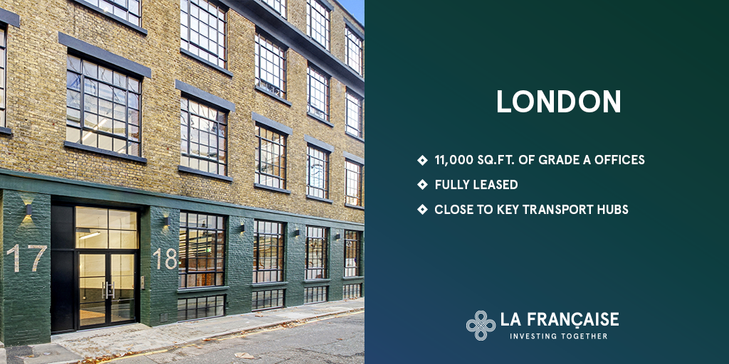 [#RealEstate] La Française collective real estate investment vehicle acquires his second UK asset. ➡️https://t.co/trrdu8BiRa https://t.co/JAcooVZLWt