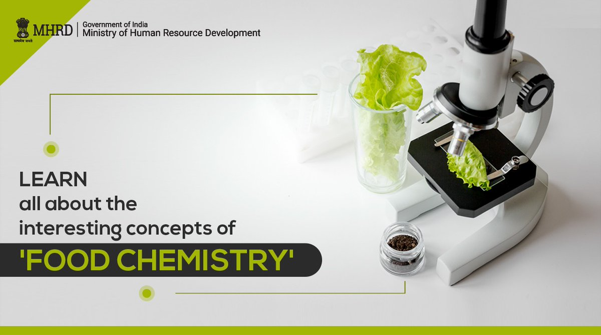 👉Carbohydrates 👉Lipids 👉Proteins 👉Dietary Minerals This course on 'Food Chemistry' covers all the above modules & many more!  Explore here: https://t.co/59rY2yI0Vd https://t.co/BsChCNm3Ms
