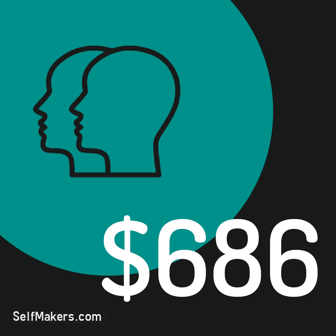 Side Hustlers earn an average of $686 p/m in the US. To help you learn how to make good extra income with a side hustle, get your free career planning workbook sample at https://t.co/SteLlA2mV0 #selfmakers #sidehustle #careers https://t.co/hbbrJYOFpx