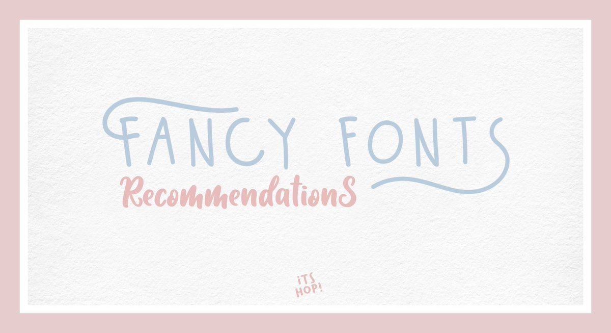 𝗔 𝗧𝗵𝗿𝗲𝗮𝗱 : 𝗙𝗮𝗻𝗰𝘆 𝗙𝗼𝗻𝘁𝘀 𝗥𝗲𝗰𝗼𝗺𝗺𝗲𝗻𝗱𝗮𝘁𝗶𝗼𝗻. Part 2.  ㅡ  Kindly help me to Like/RT please? bcs sharing is caring! <br>http://pic.twitter.com/sYCp45wFpl