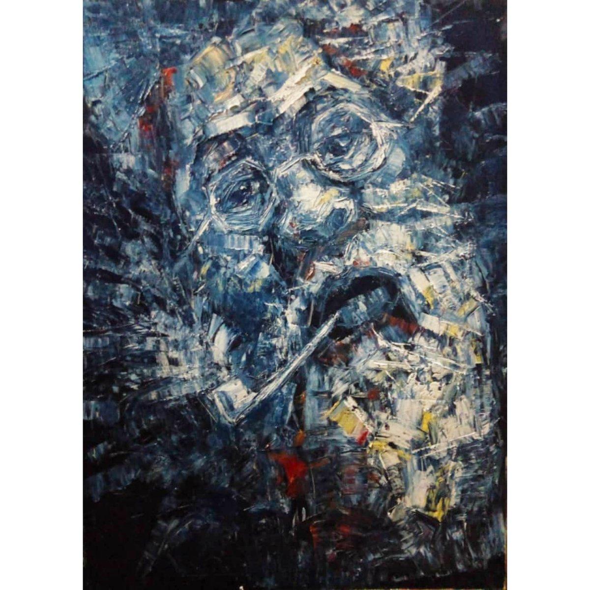 𝑻𝒉𝒊𝒔 𝒘𝒆𝒆𝒌 𝒕𝒂𝒌𝒆 𝒄𝒉𝒂𝒓𝒈𝒆 𝒂𝒏𝒅 𝒃𝒆 a 𝑩𝒐𝒔𝒔! 😉. 𝟰𝗳𝘁. 𝘅 𝟯𝗙𝘁. #AcryliconCanvas #painting 𝒇𝒓𝒐𝒎 𝒐𝒖𝒓 '𝐋𝐢𝐤𝐞 𝐒𝐡𝐚𝐫𝐝𝐬 𝐨𝐟 𝐆𝐥𝐚𝐬𝐬' #collection 𝑎𝑣𝑎𝑖𝑙𝑎𝑏𝑙𝑒 𝘢𝘵 𝑇𝐻𝐸 𝐴𝐹𝐹𝑂𝑅𝐷𝐴𝐵𝐿𝐸 𝐴𝑅𝑇 𝑆𝐻𝑂𝑃.  #contemporaryart #Art #lagos