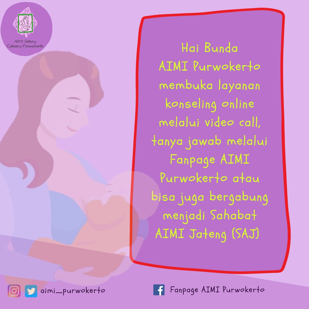 Hai Bunda, untuk detailnya bisa cek lewat admin di link pada Bio yaa... Happy breastfeeding #aimipurwokerto #konselingmenyusui #dukungibumenyusuipic.twitter.com/WKJmGyMNrp