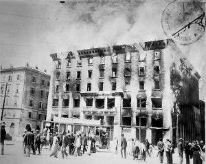 Oggi mi dispiace più di altri giorni di non essere a #Trieste, ma sono fiero della mia città.  È il #13luglio: sono passati cent'anni dall'incendio del Narodni Dom, la casa del popolo slovena che fu data alle fiamme dai fascisti. https://t.co/jAeztSPQlX