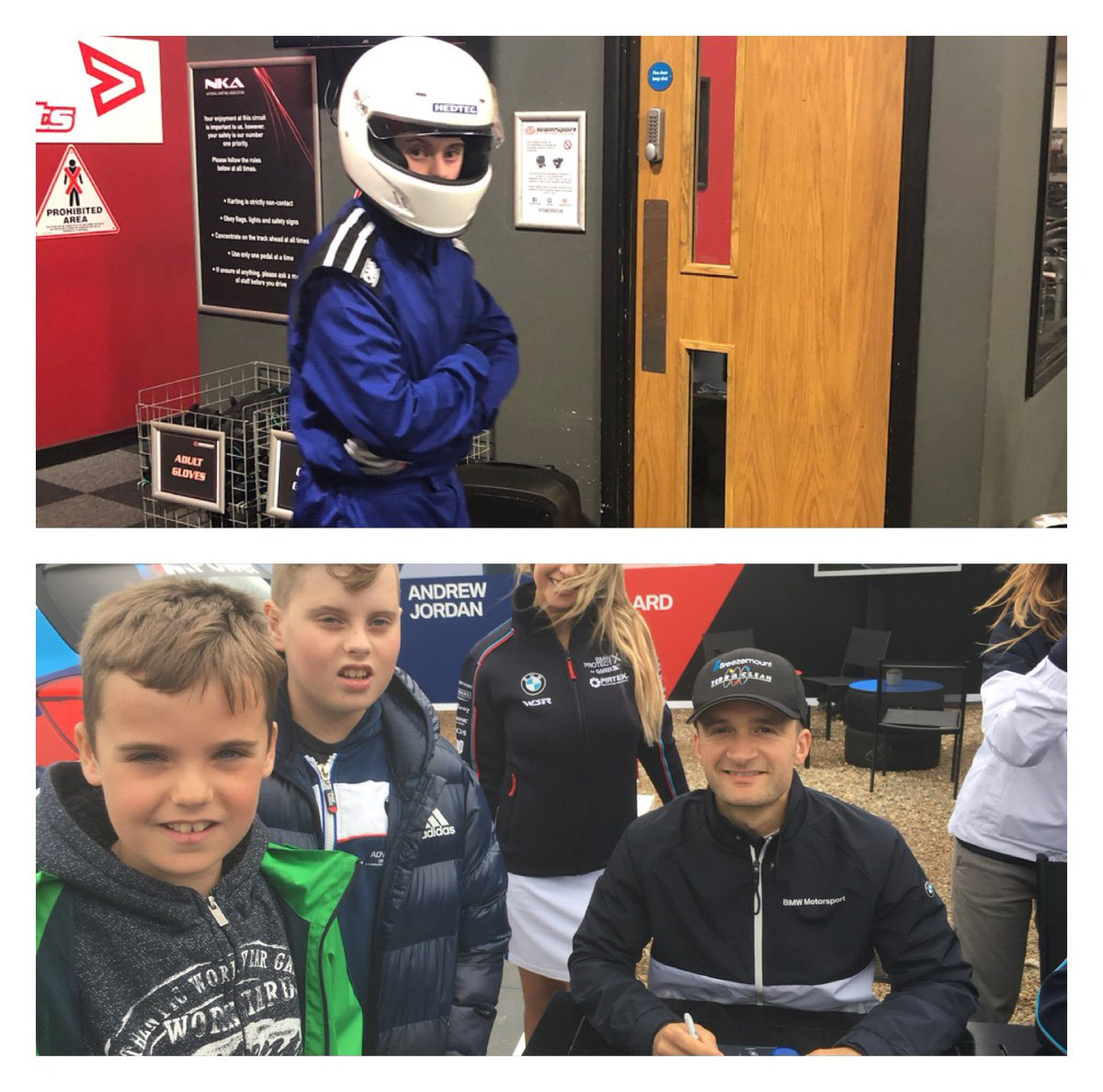 Thanks for thinking of us guys... Wouldn't this be mega for Charlie to allow him to really get to grips with next level karting. After all, he's got all the equipment and the next step is his own kart. pic.twitter.com/g7sSmHgBlr