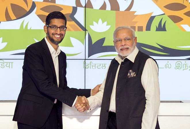 Ushering in a New Era: Google announces investment of $10 Billion in India  Under PM @NarendraModi ji's pro-growth, business-friendly & transparent governance, India becomes an attractive destination for FDI, & this investment will help in realising our vision of a Digital India. <br>http://pic.twitter.com/qh5Qks8eWP