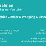 Image for the Tweet beginning: Siegfried Zimmer und Wolfgang Bittner