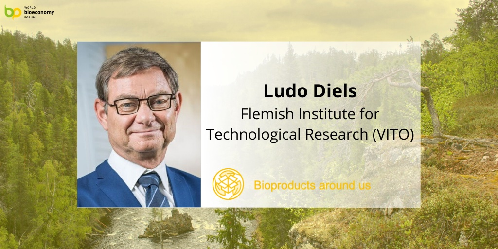 Prof. Ludo Diels @VITObelgium, will moderate the Biobased value chains panel during the 3rd session @BioeconomyForum. He is an Advisory Board member of WCBEF and has been involved in several global #bioeconomy projects, driving the transition towards sustainable chemistry.pic.twitter.com/zVoyF5cTfI