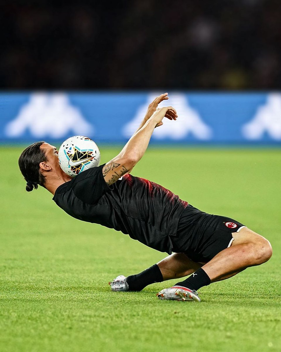 Just a reminder that Zlatan Ibrahimović is 38-years old. 🤯