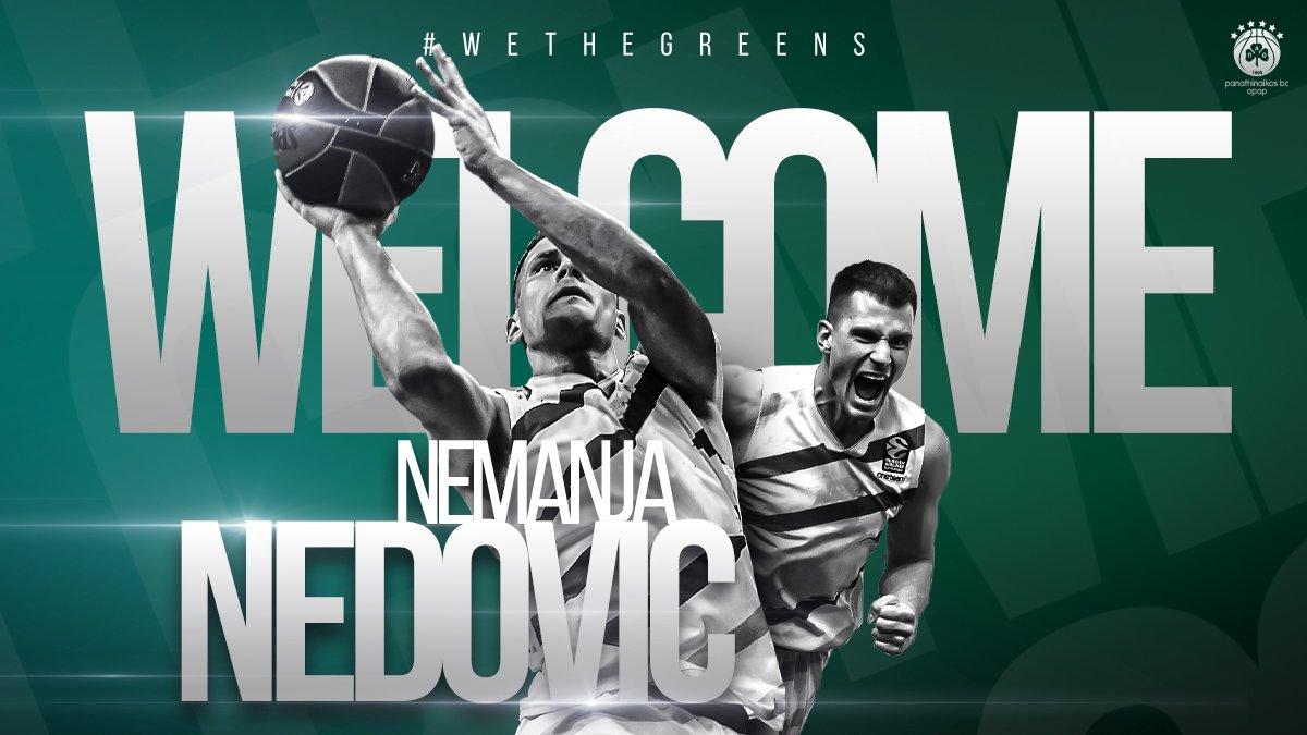 Panathinaikos, ufficiale la firma di Nemanja Nedovic