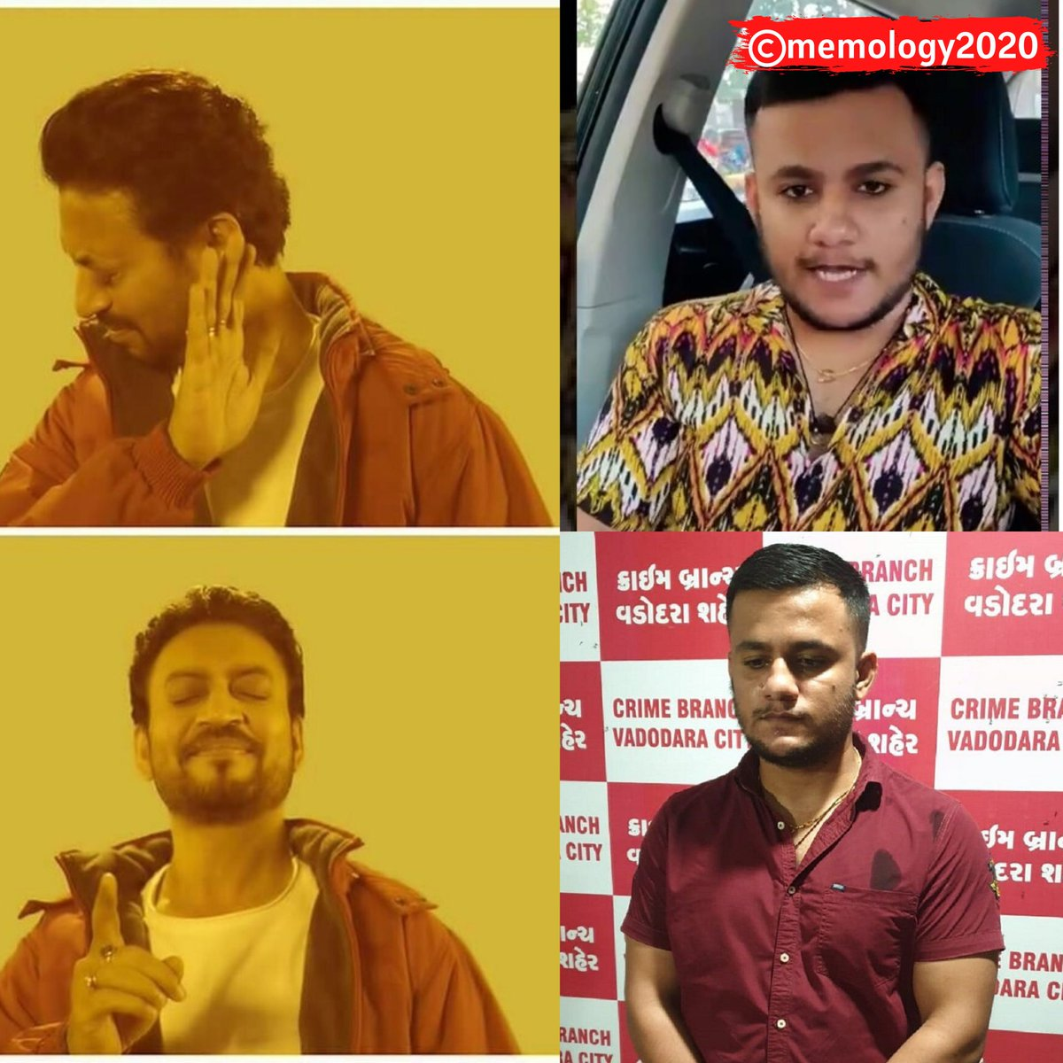 #memology2020 #shubhammishra #subhammishra #shubhammishramemes #indianmemes #hindimemes #originalmemes #cyberbullying #vadodara #vadodarapolice #baroda #trendingmemes #truememes #trending #trendingnow #viralmemes #cbseresults2020  #agrimajoshua #agrima #gujarat #gujaratpolice #Nopic.twitter.com/ZiKvShL4sG