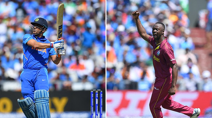 MS Dhoni's 💪-hitting after Kemar Roach's tight spell in #INDvWI at the #CWC19 - which shot had you going 🤯? #ReLive the game with #IndiavTheWorld, July 14 at 11 AM! 📺: Star Sports 1/1HD/2/2HD/3/1 Hindi/1HD Hindi/First