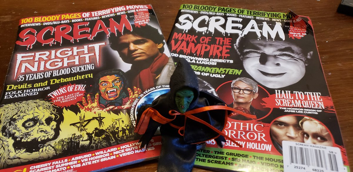 Reading @ScreamHorrorMag and soon I'll be contributing to them! https://t.co/WmRsLDM5lT