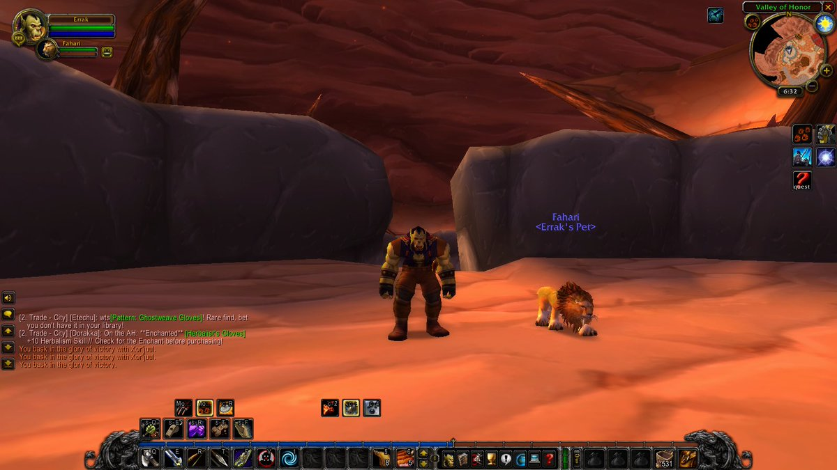 It only took me all day yesterday, but I tamed The Rake! #podcast #warcraft #worldofwarcraft #wow #horde #forthehorde #hunter #orc