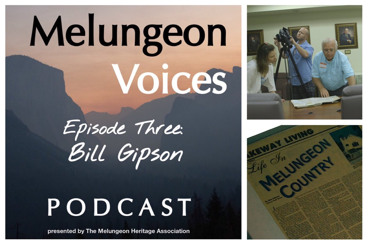 Listen now to Episode Three of the #MelungeonVoices #podcast featuring Bill Gipson! Link in our bio. A special thank you to @LisMalone for producing and co-hosting, as well as the Melungeon Heritage Association  for sponsoring it. #MixedAncestry