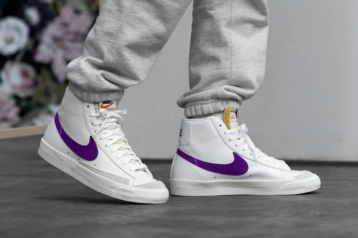 Nike Blazer Mid '77 Vintage 'Voltage Purple' available on Nike US.  https://t.co/TaftBVWaYH  #AD https://t.co/yru7Fdu07m