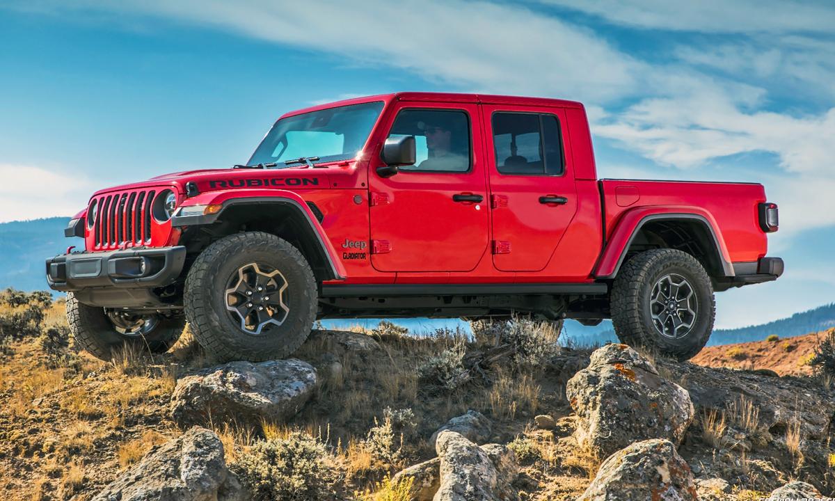 Jeep Gladiator bakkie gains V6 turbodiesel engine churning out 600 N.m… https://bit.ly/2CsaOnupic.twitter.com/175FPqHBya