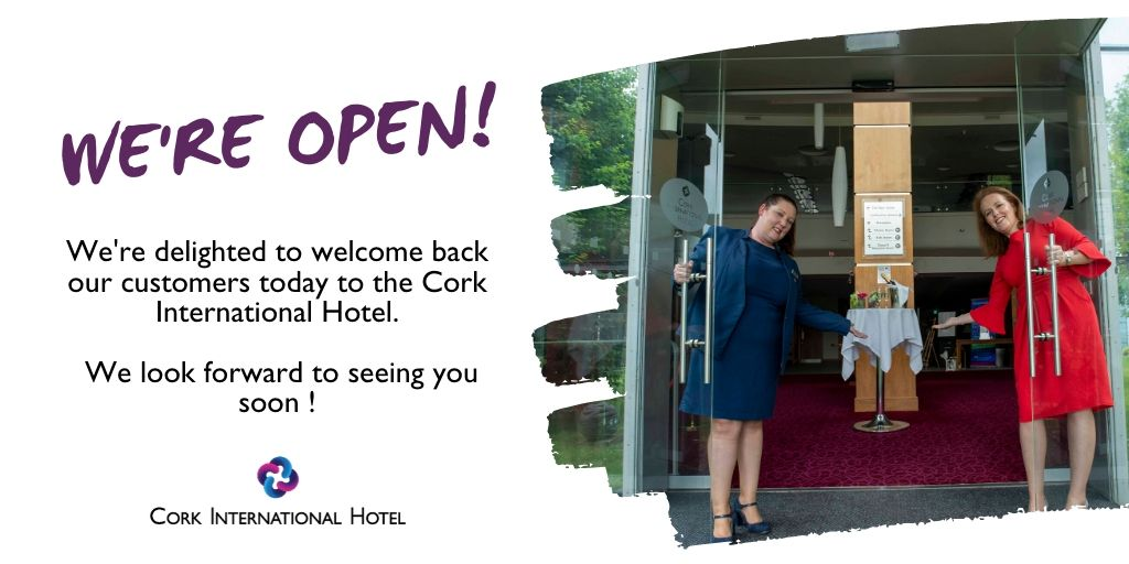We're so excited!  Looking forward to seeing you all ✨😍 Check out our amazing offers online here: https://t.co/BRp4EzBqq9 #purecorkwelcomes #WelcomeBackCork #CorkCity https://t.co/XA7XDNVmTA