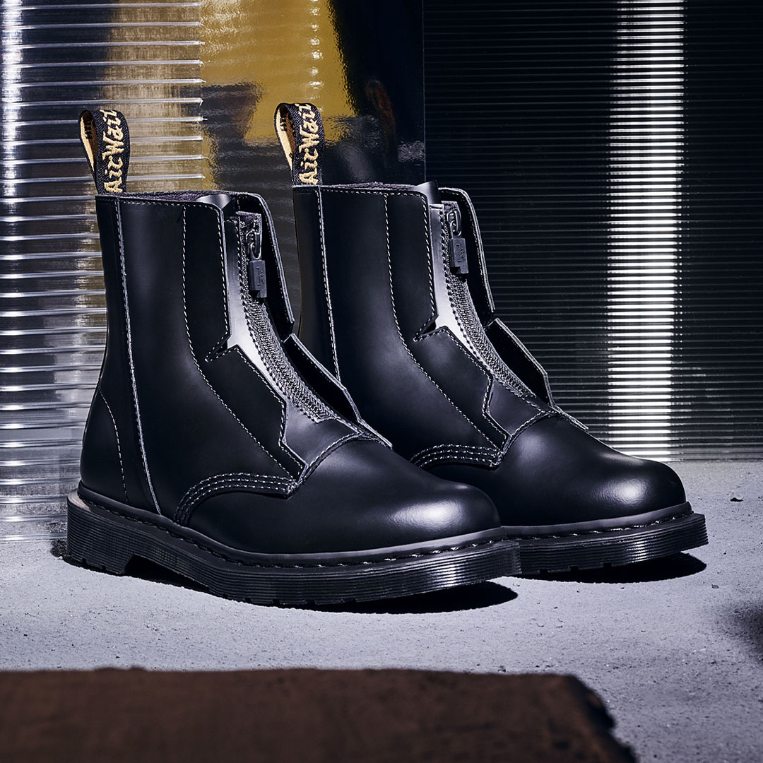 A-COLD-WALL* has blurred class boundaries with Dr. Martens 1460 collaboration. Utilizing details that references tailoring and minimalist design.  Learn more: https://t.co/uTiJ35cjwh https://t.co/SzHXTlc4L2
